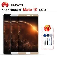 ЖК дисплей для Huawei Mate 10 диагональю 5,9 дюйма, дисплей с сенсорным экраном и дигитайзером в сборе, деталь с рамкой для дисплея Mate 10