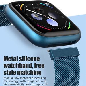 Image 2 - Cobrafly P6 Smart Watch Women Men pk P68 P70 1.4 Inch Full Touch Screen IP67 Waterproof Heart Rate Monitor Fitness Tracker Watch