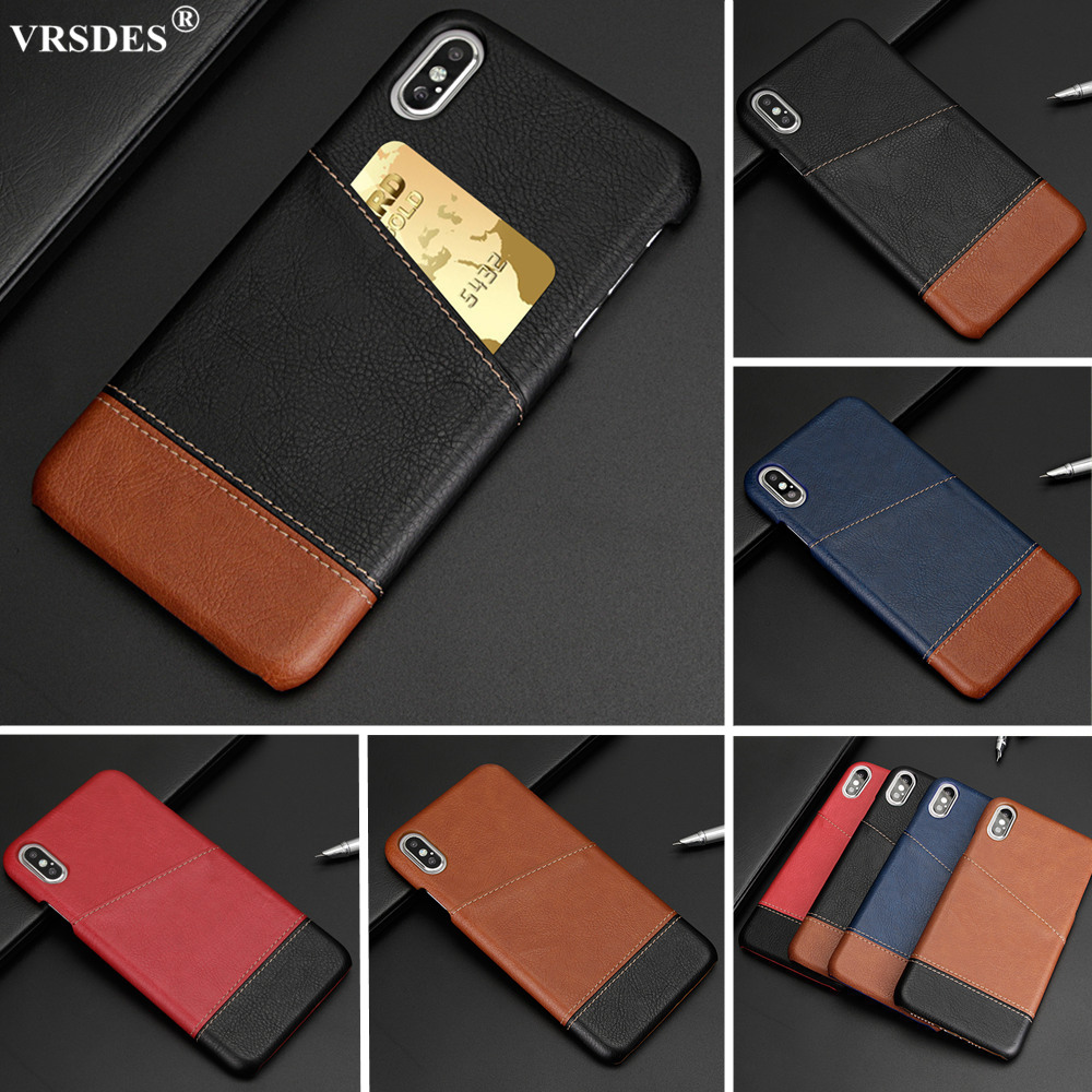 Luxury Slim Leather Credit Card Holder Wallet Case For iPhone XS MAX XR X SE 2 2020 11 Pro 12 Pro Max 6 6S 7 8 Plus 5 5S Funda