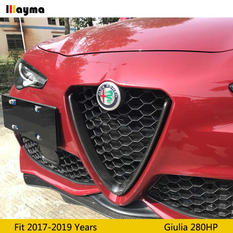 GLFDYC 4Pcs Fibra di Carbonio Soglia della Porta Auto Esterno Batticalcagno Adesivi Soglie Porte per Alfa Romeo Giulietta Protezione Car Styling Battitacco Inox Door Sill