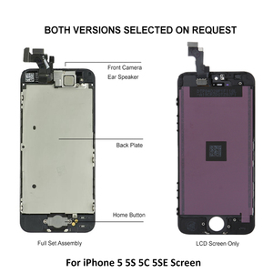Image 4 - Grade AAA Screen For iPhone 5 5G 5C 5S SE LCD Full Set Assembly Complete 100% Touch Digitizer 5S 5SE Screen Replacement Display