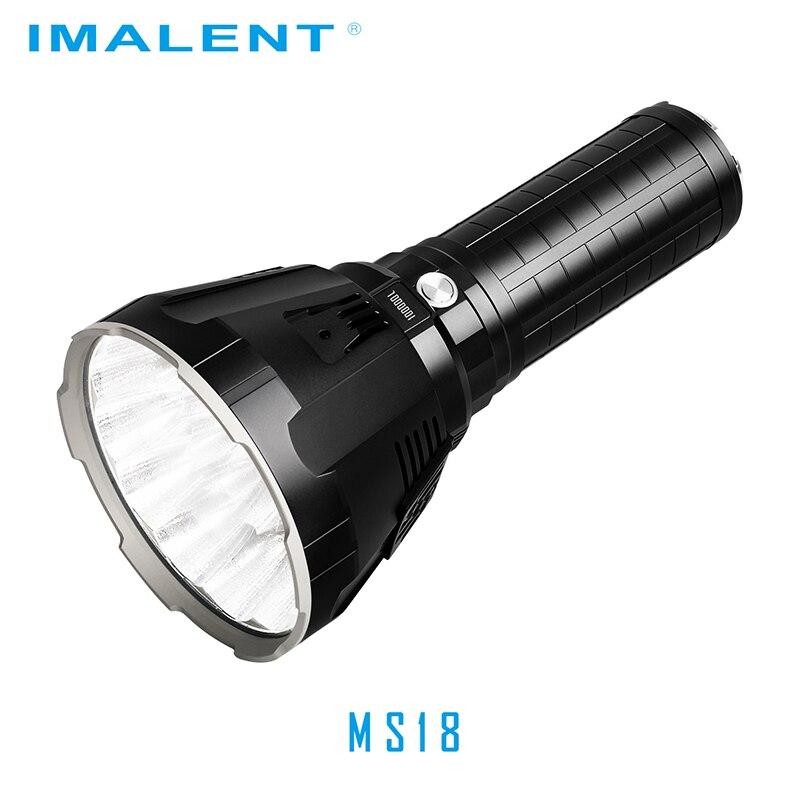 Linterna LED Original IMALENT MS18 + Set de cabeza R90TS CREE XHP35 HI/CREE XHP70.2 100000 LM luz de Flash recargable para buscar - 2
