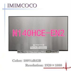 100% Color LCD N140HCE-EN2 fit NE140FHM-N61 N140HCG-GQ2 N140HCE-GP2 FOR T440 T450 T460S T470 T480 T490 Luminance 400cd/m²