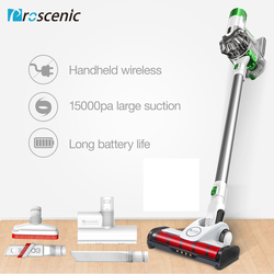 Proscenic P9 Cordless Vacuum Cleaner 15KPa Powerful Suction 45 Minutes Running Time Anti-winding Hair Mite 2-in-1 Stick Vacuum