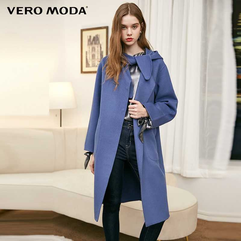 Vero Moda Women's Hooded Straight Double-Sided Coat | 318327552