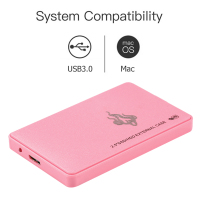 Portable 2.5 USB 3.0 External Hard Disk Drive 500GB/1TB/2TB SATA III Memory Storage Hard Disk HD For Desktop PC Computer Laptop