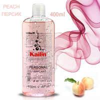 400ml frucht geschmack schmiermittel anal fett für sex lube gel Oral Sex Öl erdbeere Banane orange trauben Massage Öl wasser basierend