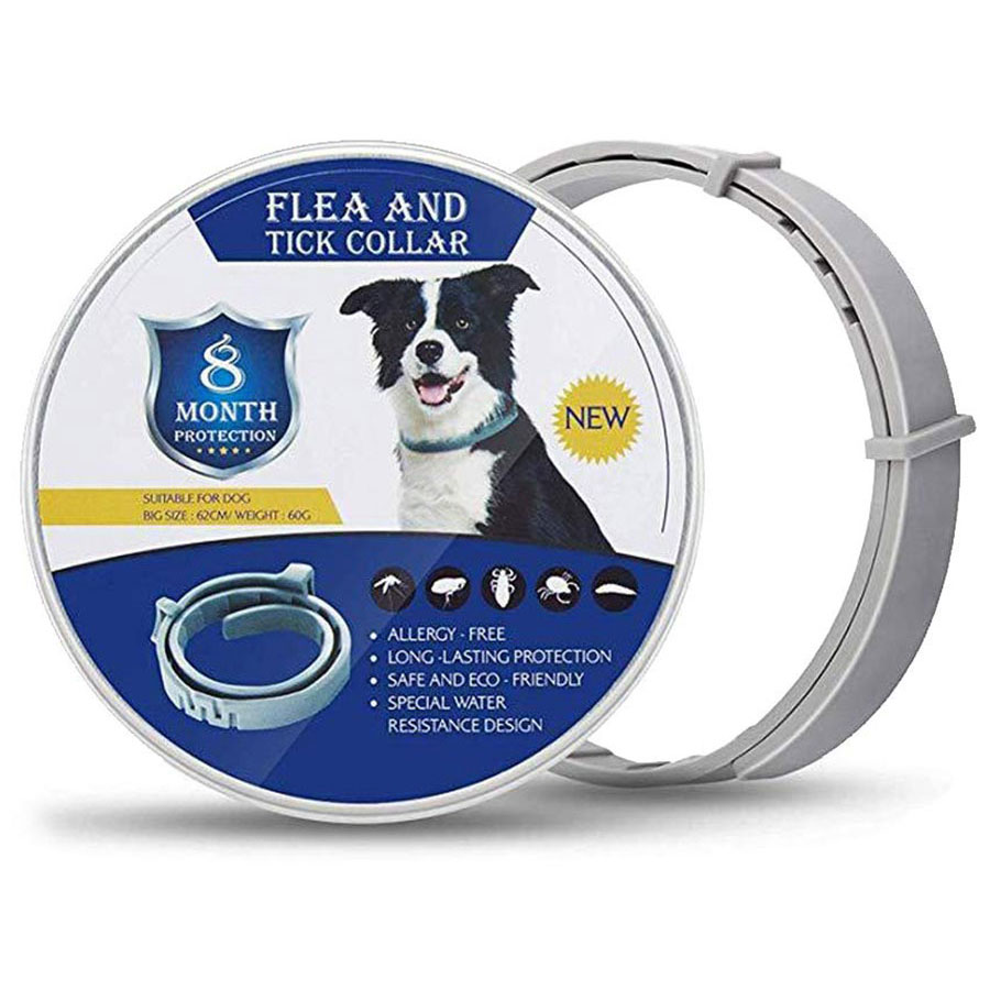 Removes Flea Tick Collar Adjustable Flea Tick Anti Insect Collar 8 Months Protection For Cats Dogs repellent Pet Supplies