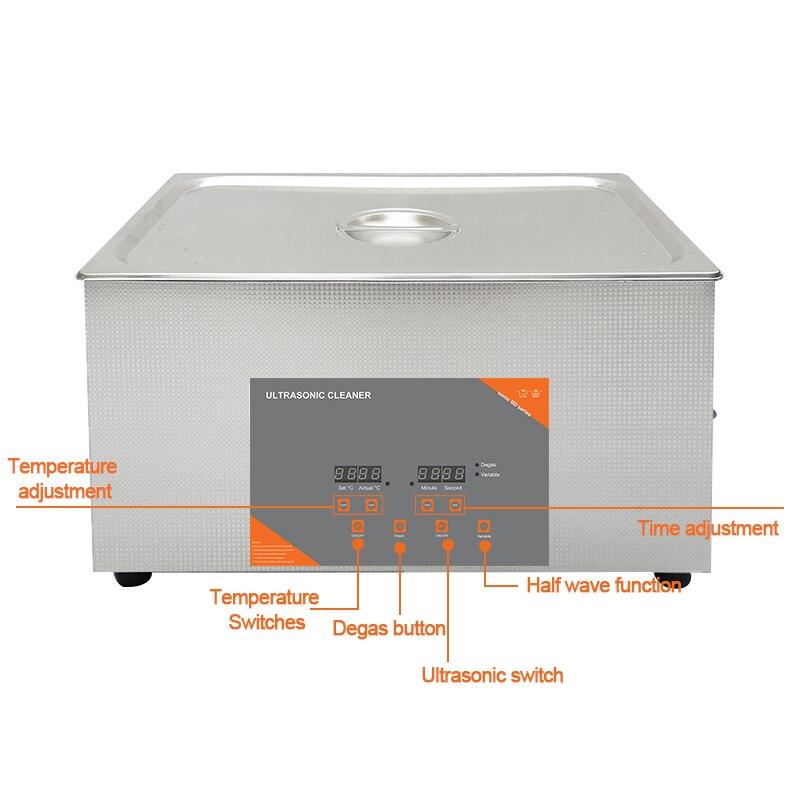 temporizador aquecido ultra sônico máquina de lavar