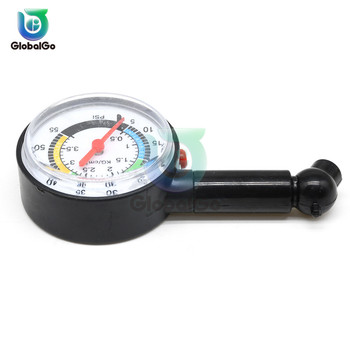 Tire pressure monitoring system 0-50 psi Tire Pressure Gauge Dial Meter wheel air pressure Tester for Auto Motor Car Truck image