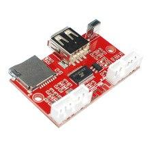 HIFI USB U-Disk t-flash карта Bluetooth декодер MP3 Поддержка WMA WAV FLAC APE дистанционное управление функция одного повтора
