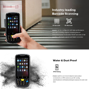 Image 5 - IssyzonePOS Android PosTerminal Water Proof Industrial PDA 1D 2D Barcode Scanner with 4G WiFi GPS BT Warehouse Data Collect PDA