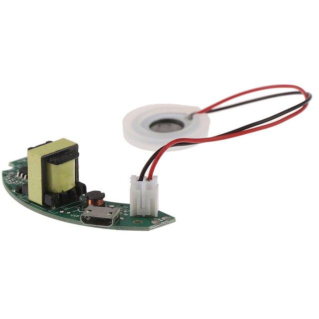 1 مجموعة USB جهاز تنقية الهواء صغير الحجم لتقوم بها بنفسك عدة ضباب صانع لوحة دائرة المحرك الانحلال 2