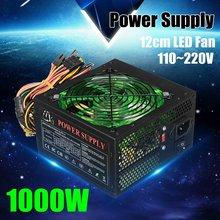 Netzteil 500W 80PLUS PC Power E-sport Max 1000W Power Liefert Für Computer 12V ATX 12CM LED Fan Netzteil