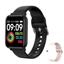 Senbono Vrouwen Slimme Horloge Voor Android Apple Horloge IP68 Waterdicht Hartslag Bloeddruk Mannen Smartwatch Fitness Armband