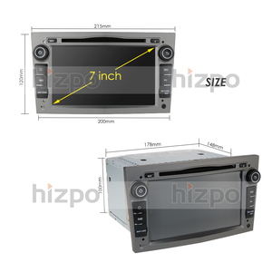 Image 5 - Hizpo 4G RAM الثماني 8 الأساسية الروبوت 10.0 2 الدين مشغل أسطوانات للسيارة لاعب لأوبل أسترا H فيكترا كورسا زافيرا B C G سيارة WIFI SWC OBD2 DVR