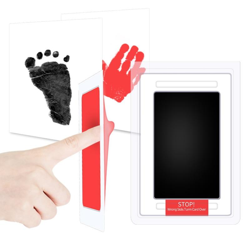 Snailhouse Newborn Baby Handprint Footprint Ink Non-Toxic Touch Ink Pad DIY Photo Frame Souvenir Girl Boy Infant Decoration Toy