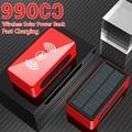 99000 мАч Power Bank переносной 4USB QC PD 3,0 повербанк для быстрой зарядки Power Bank Внешнее зарядное устройство Power Bank для iphone Xiaomi Mi; Размеры 9 и 10