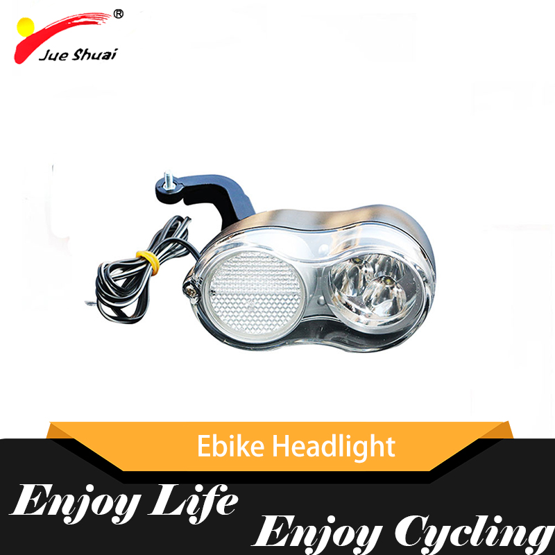 LED 36V Night Electric Bike Headlight Bicycle Front Light Long Service Life 200Cm Length Waterproof Ebike Electric Bicycle Parts|Electric Bicycle Accessories| |  - title=