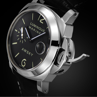 Luxury Men Watches Automatic Black Watches Sapphire Crystal Men Stainless Steel Waterproof Business Sport Mechanical Wristwatch