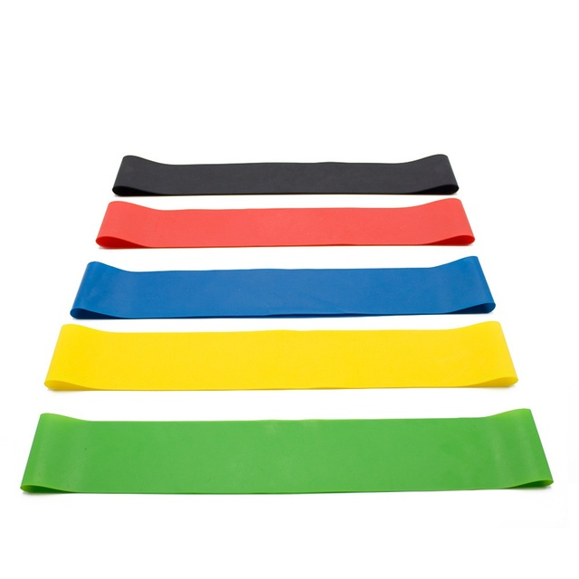 Yoga Resistance Rubber Bands Fitness Elastic Bands 0.3mm-1.1mm Training Fitness Gum Pilates Sport Crossfit Workout Equipment 3