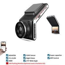 Sameuo U2000 Auto Dvr Voor En Achter 2K Dual Lens Dash Cam FHD1080p Wifi Smart Dash Camera Auto Night vision 24H Parking Monitor