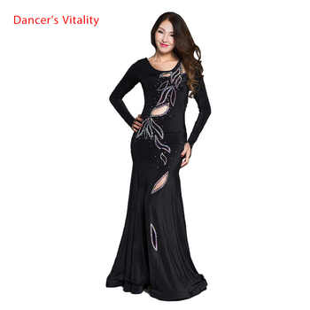 Professional Quality belly dance costume dress bellydance pratice clothing indian dress Sexy Dancer Practice Costume Dress - DISCOUNT ITEM  10% OFF All Category