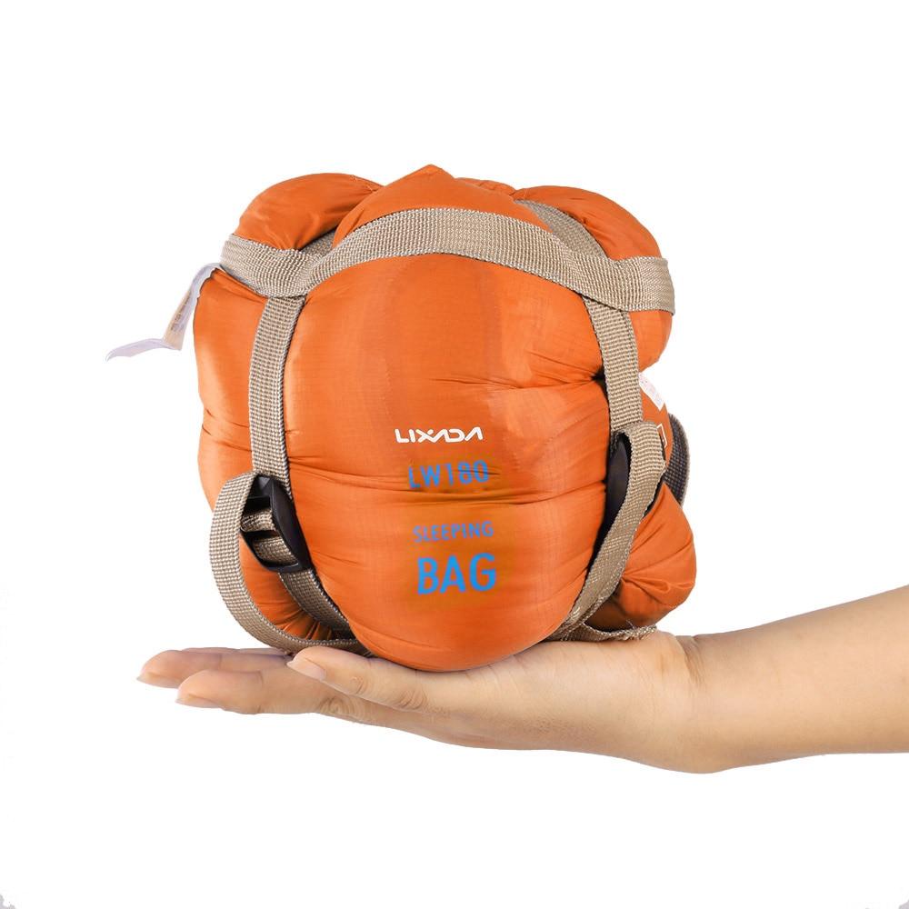 Lixada 190*75cm Camping Ultralight Mini Sleeping Bag