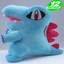 30cm Height Limited Edition Eevee Luma Anime New Plush Doll for Fans Collection Toy Totodile 30cm height limited edition eevee luma anime new plush doll for fans collection toy celebi