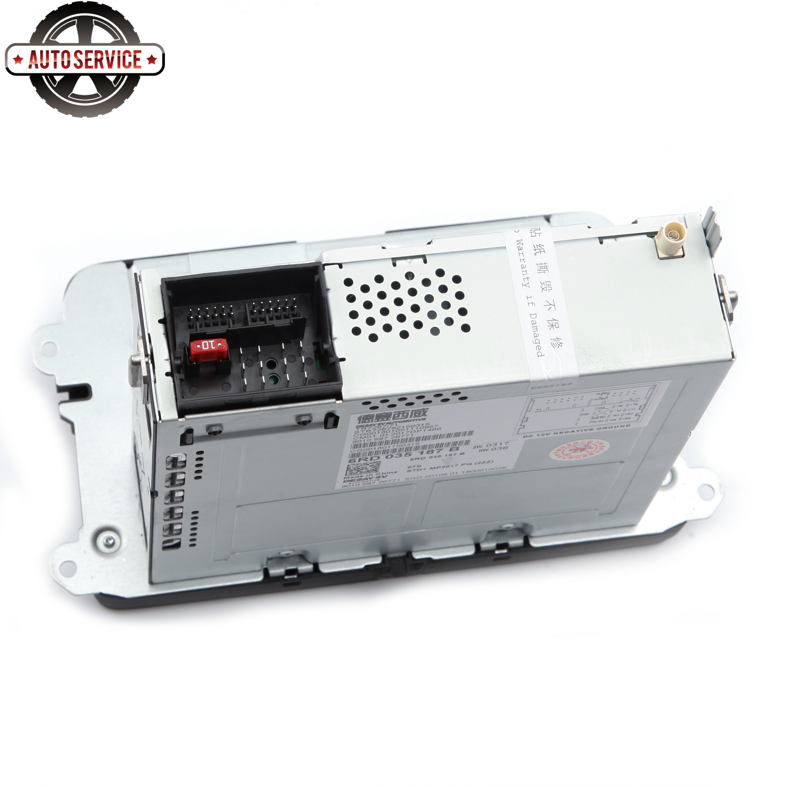 Nuevo RCD330 más RCD330G Carplay MIB 6,5 pulgadas Radio para Jetta MK5 MK6 CC Passat 6RD035187B 1GB de RAM cámara de Vista trasera Bluetooth USB - 6