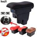 Подлокотник для Honda Fit Jazz 2002-2007 хэтчбек подлокотник центральная консоль коробка для хранения с USB зарядкой 2003 2004 2005 2006
