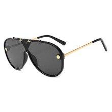 2020 Oversized Sunglasses Vintage Brand Driving Sun Glasses