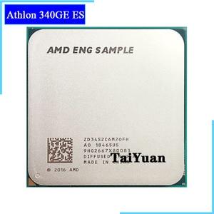 AMD Athlon 340GE X2 340GE es 3.4 GHz Dual-Core Quad-Thread 35W CPU Processor L3=4M ZD34S2C6M2OFH Socket AM4 Relation 3000G