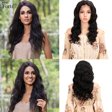 Remy Forte Lace Front Human Hair Wigs Loose Wave Short 100% Brazilian Wig 13X4 Frontal