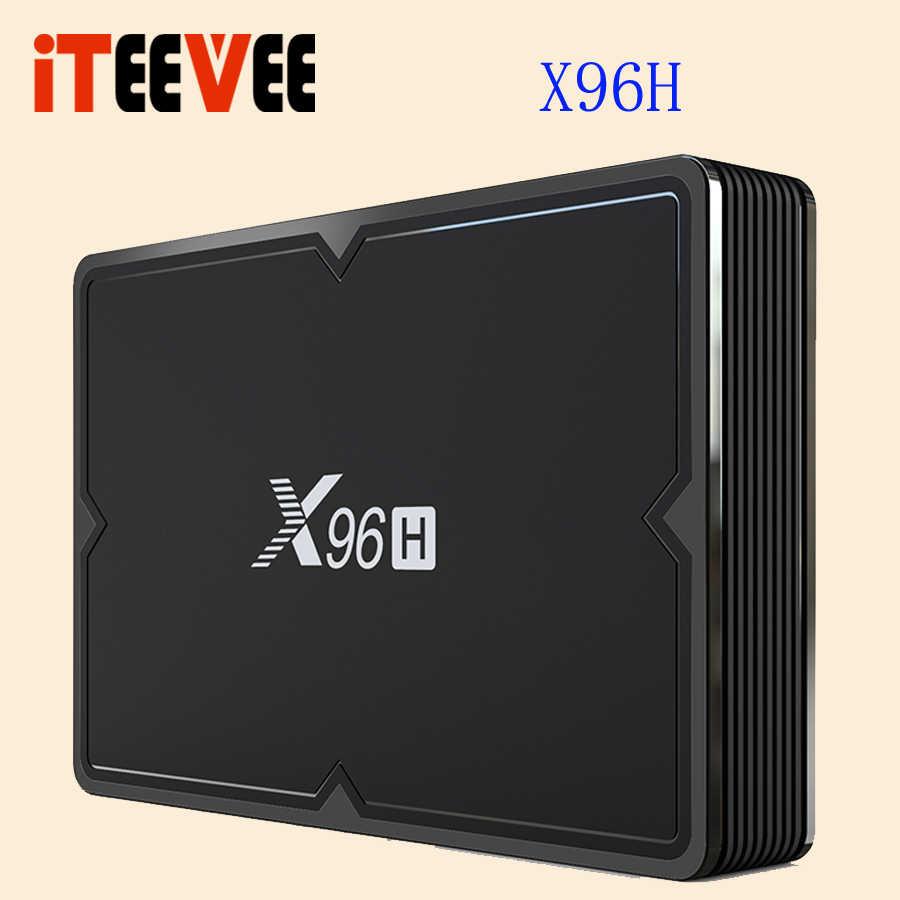 X96H Smart tv Box Android 9,0 Bluetooth 4,0 GPU Mali T720 4G Ram 32G/64G Rom USB 3,0 Поддержка беспроводной airmouse/клавиатура 5 шт.