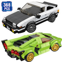 Technic Lamborghinis Racing Series Idea Super Car Buliding Blocks With Action Figures Bricks Toys Boys Birthday Gift(China)