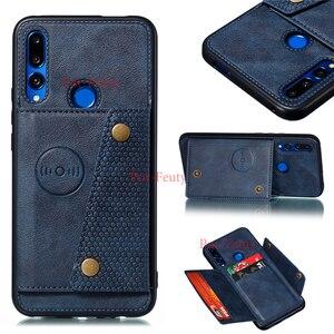 Чехол-подставка для Huawei P20 P30 Lite Y9 Prime 2019 Honor 20 9X Pro P Smart Z, роскошный бумажник, силиконовый чехол из искусственной кожи