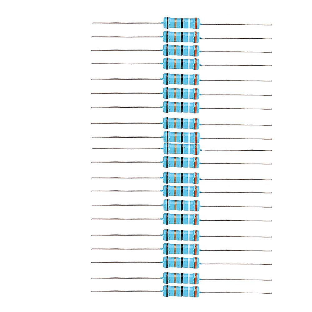 20pcs 2W 39R Metal Film Resistor Resistance 1% 39 Ohm Resistor