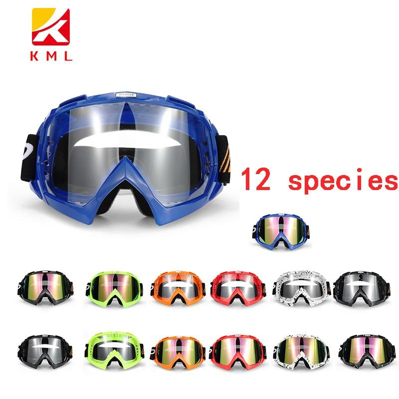 Motocross Motorcycle Goggles ATV Off Road Dirt Bike DustProof Racing Glasses Anti Wind Eyewear MX Goggles