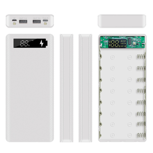Image 3 - 5V Dual USB 8*18650 Power Bank Case With Digital Display Screen Mobile Phone Charger DIY Shell 18650 battery Holder Charging Box