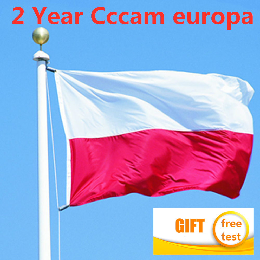 Europe Poland Cccam Europa 10lines For 2 Years Poland 10lines For DVB S2 HD V8 Nova V9 Super TV BOX 2 Year CCCam Europa Service