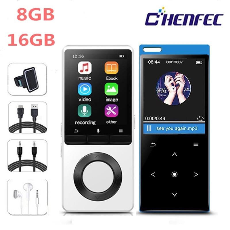 MP3 Player With Speaker Metal Hifi Portable Music Player With Fm Radio EBook Sport  Hi Fi Walkman Support Usb,mini SD Card