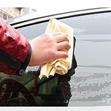 Pano de limpeza do carro toalhas de lavagem de couro genuíno camurça absorvente toalhas secagem rápida ferramentas de limpeza do carro