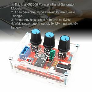 XR2206 Full Assembled Welding Function Signal Generator Welding Version Sine Triangle Square Wave 1HZ-1MHZ DDS