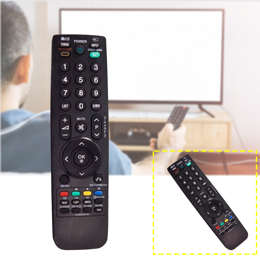 Battery Powered Home Manual Remote Control For LG Television Handheld Replacement Useful Accessories 32LG2100 32LH2000 3000
