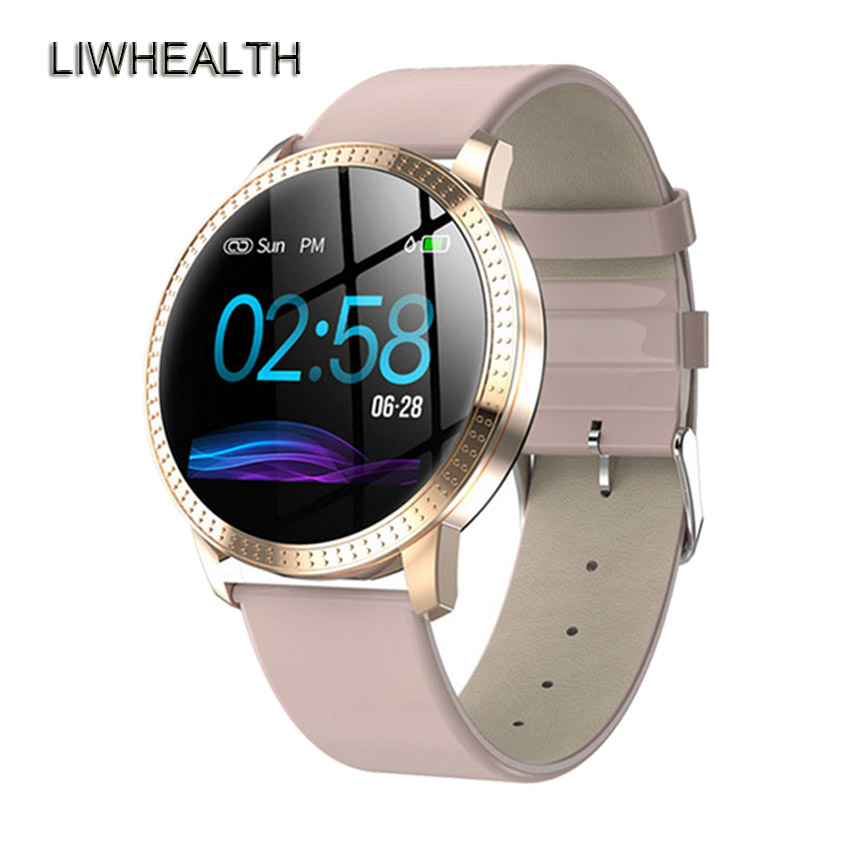 Luxury Smart Band Women Lady Men Fitness Tracker Smartband Blood Pressure Watch For IOS/Xiaomi/Honor PK Mi Band 4/Fit Bit 5 Not image