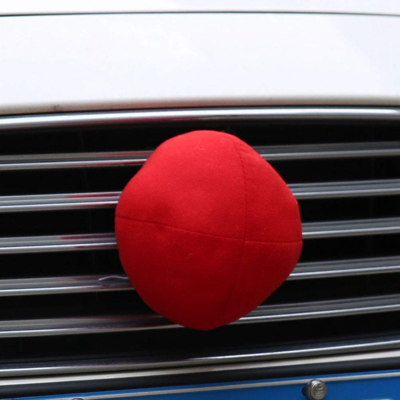 Rudolph Car Costume Christmas Reindeer Antlers /& Red Nose for Truck SUV Decor//SS