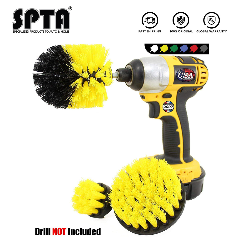 SPTA Bathroom Surfaces Tub, Shower, Tile and Grout All Purpose Power Scrubber Cleaning Kit|Sponges, Cloths & Brushes|   - AliExpress