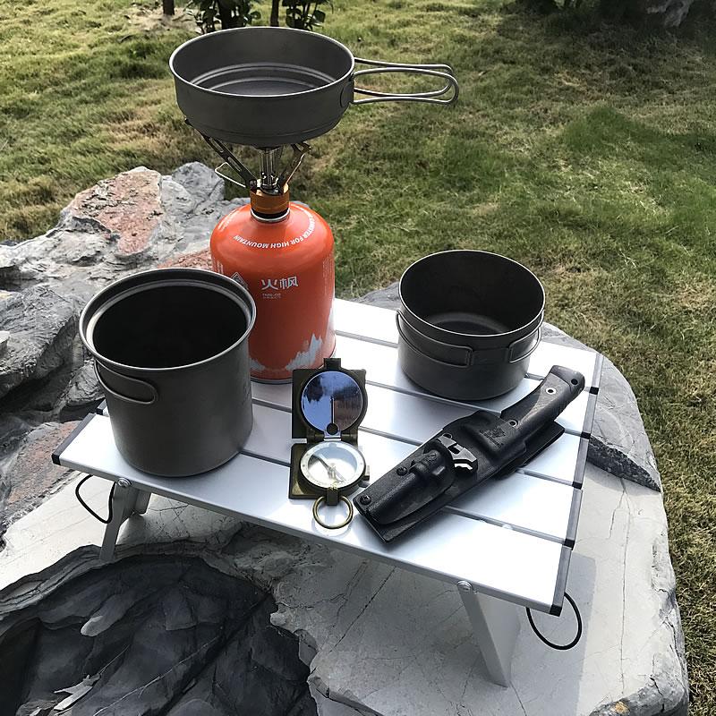 Folding Tables Candy-Light Color-Desks Picnic Outdoor Aluminum BBQ Mini-Size