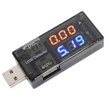 Multimeter-Meter Power-Tester with Led-Display for Battery-Monitor Usb-Detector Current